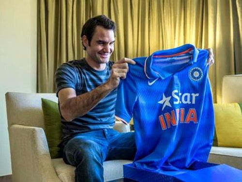 Sự cố ngoài ý muốn với áo đấu của tuyển cricket Ấn Độ