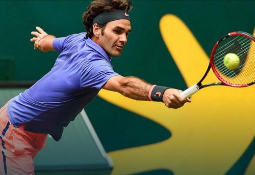 Federer vào bán kết ATP Halle
