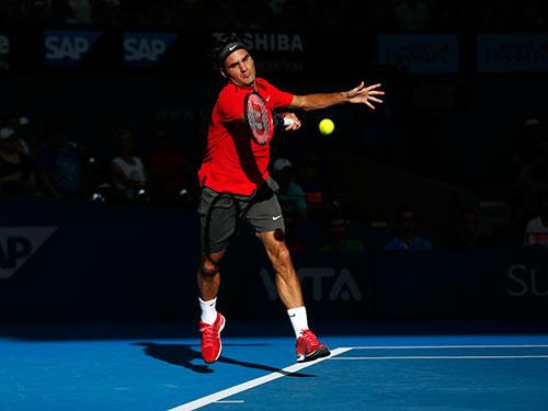 Federer đang tiến sát trận thắng thứ 1.000 trong sự nghiệp Ảnh: REUTERS