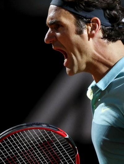 Hạt giống số 2 Roger Federer