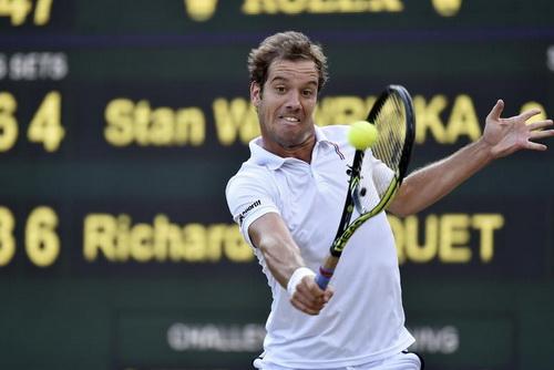 Gasquet chờ làm nên lịch sử cho quần vợt Pháp
