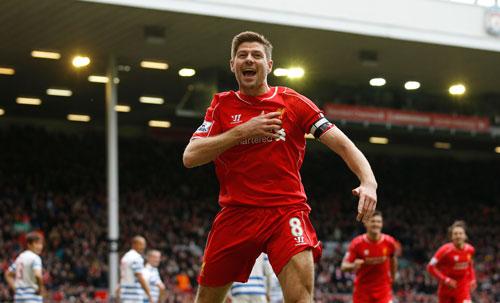 Gerrard không chỉ là tài năng mà còn là biểu tượng của lòng trung thành Ảnh: REUTERS