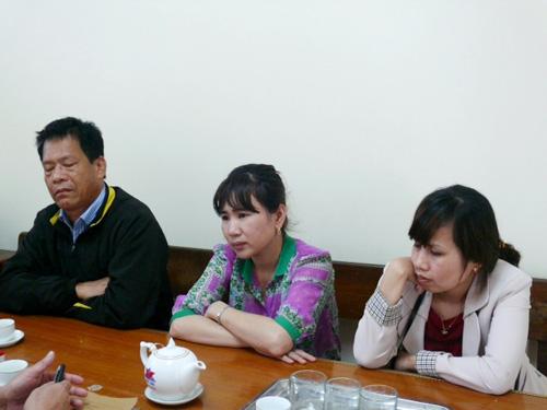 Trần Ngọc Sơn (bìa trái) cùng các đồng phạm đút túi tiền nhà nước tại cơ quan công an