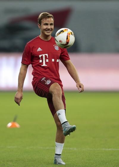 Goetze lập công cho Bayern Munich