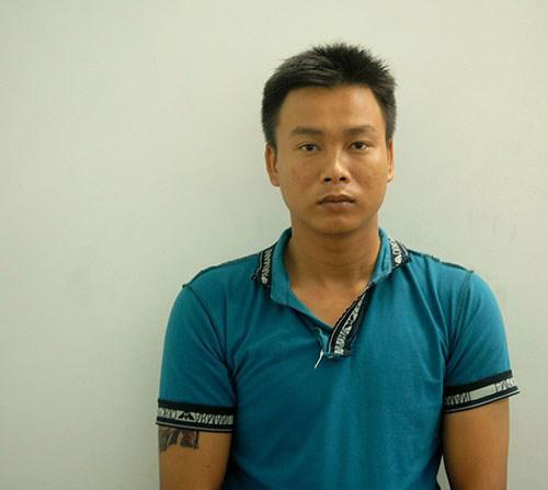 Huỳnh Văn Hận lúc bị bắt