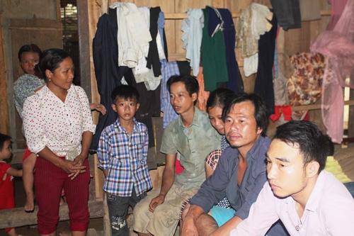 Những người thân của gia đình chị Hán
