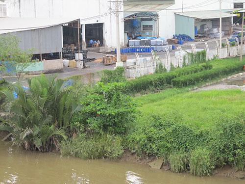 sông Đồng Điền và người dân huyện Nhà Bè gồng mình hứng chịu nước thải ô nhiễm của Công ty CP Hào Dương