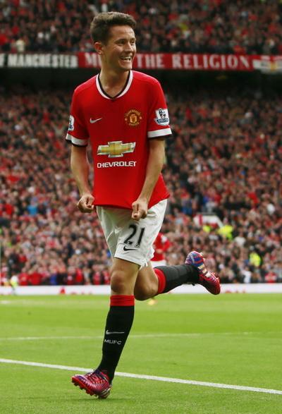 Herrera đưa Man United vượt lên trước ở phút 30