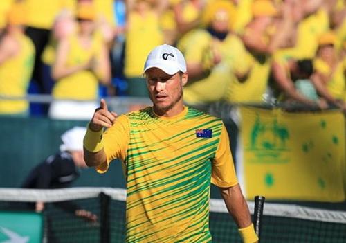 Lão tướng 34 tuổi Lleyton Hewitt đưa tuyển Úc vào bán kết Davis Cup