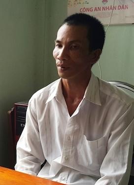 Ông Nam tại Công an xã Long Phước