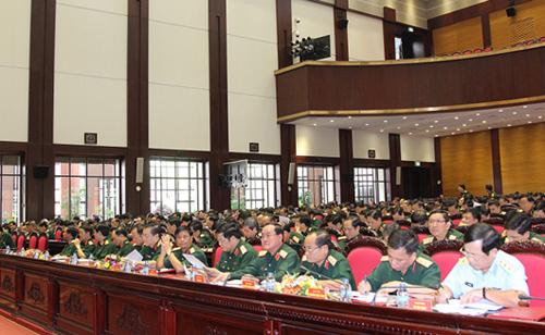 Toàn cảnh Hội nghị Quân ủy Trung ương