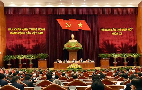 Hội nghị Trung ương lần thứ 11 sẽ xem xét, quyết định nhiều vấn đề quan trọng