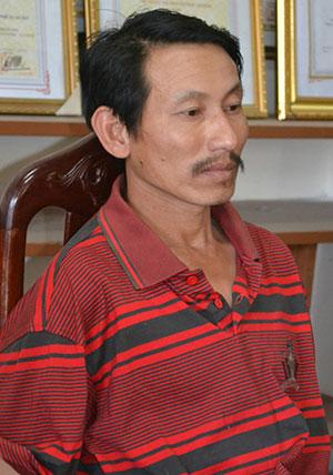 Đối tượng Nguyễn Ngọc Hiếu tại cơ quan Công an tỉnh