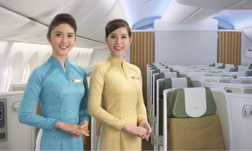 Đồng phục mới của tiếp viên Vietnam Airlines