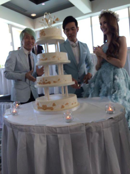 Sau Anh và Đài Loan, Châu Kiệt Luân tổ chức tiệc cưới ở Úc