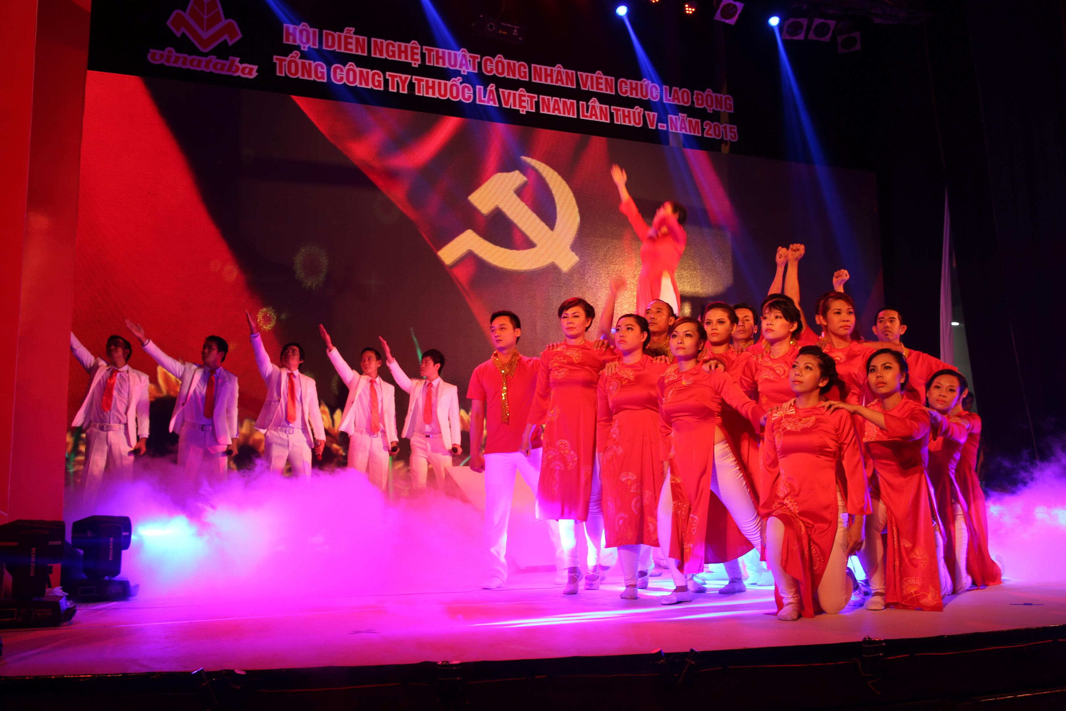 Công đoàn Tổng Công thuốc lá Việt Nam tổ chức hội diễn nghệ thuật CNVC-LĐ vào sáng 24-3