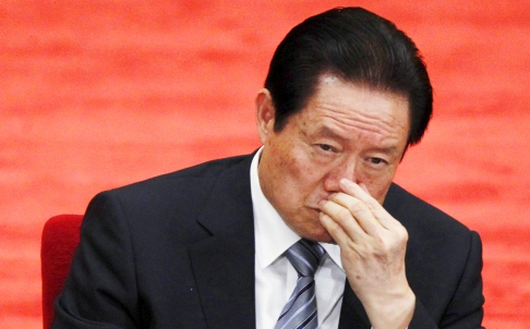 Xinhuas article says members of the Secretary Gang included several top aides and former personal secretaries of Zhou Yongkang. Photo: AP