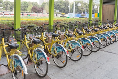 public bicycles mianyang china