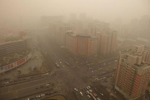 Bộ Bảo vệ Môi trường Trung Quốc từng áp dụng các biện pháp  nhằm giảm lượng khí thải từ xe hơi. Ảnh: CAIXIN