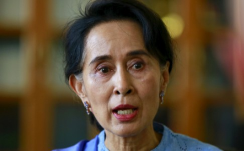 Aung San Suu Kyi is coming to Beijing for a five-day visit. Photo: Reuters