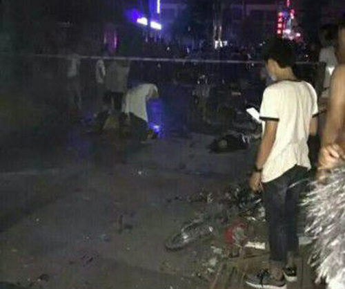 山东单县公园爆炸案