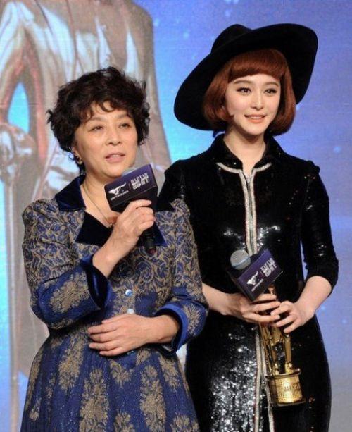 Băng Băng và mẹ - bà Trương Truyền Mỹ