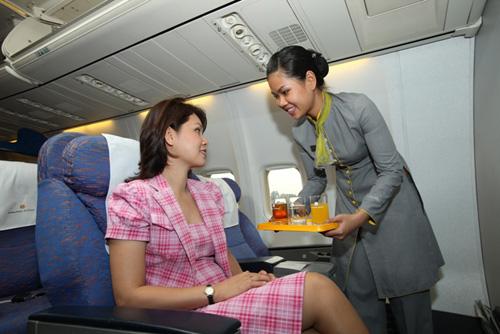 Đồng phục tiếp viên Indochina Airlines