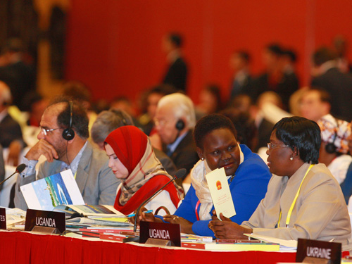 Các đại biểu quốc tế tại IPU-132