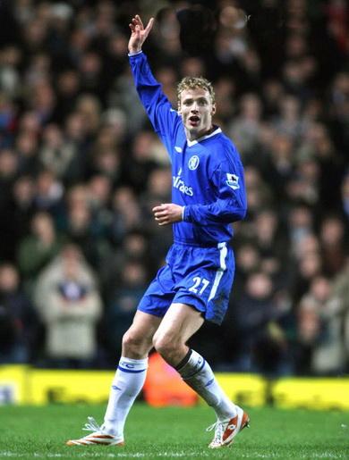 Jiri Jarocik khi thi đấu cho Chelsea