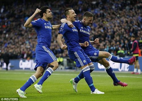 Vũ điệu chiến thắng (với Costa và Cahill)