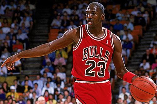 Jordan và số áo 23 huyền thoại ở Chicago Bulls