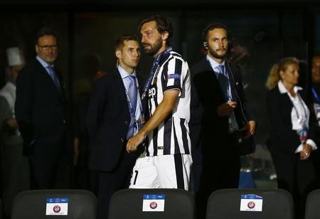 Pirlo đã khóc sau trận. Đây có lẽ là trận chung kết cuối cùng của tiền vệ lão tướng này