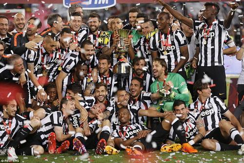 Juventus giành Cúp Quốc gia Ý