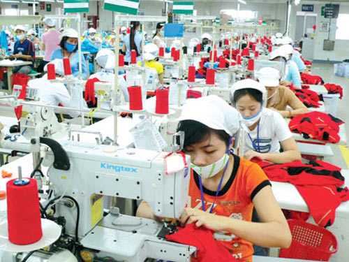 Khoảng 90% số lao động tại KCX-KCN TP trở lại làm việc.