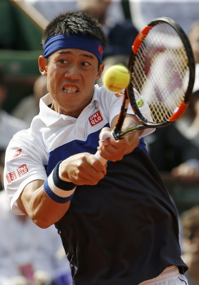 Nishikori có cuộc lội ngược dòng ấn tượng dù không thành công
