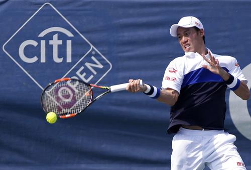 Kei Nishikori đánh bại nhiều đối thủ mạnh ở City Open 2015
