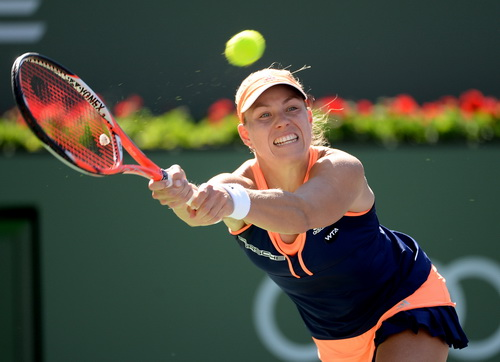 Angelique Kerber sớm chia tay Indian Wells 2015