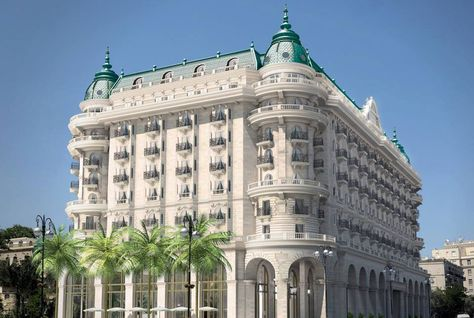 Khách sạn Four Seasons (Bốn mùa) tại thủ đô Baku - Azerbaijan Ảnh: arabianbusiness.com