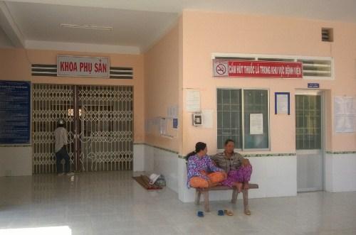 Khoa sản Bệnh viện Đa khoa khu vực Đầm Dơi