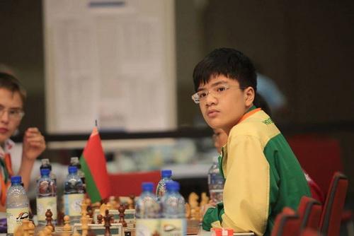 Anh Khôi vô địch trẻ thế giới lứa tuổi U12 năm 2014