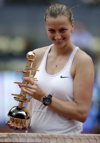 Petra Kvitova và danh hiệu thứ nhì tại Madrid Open