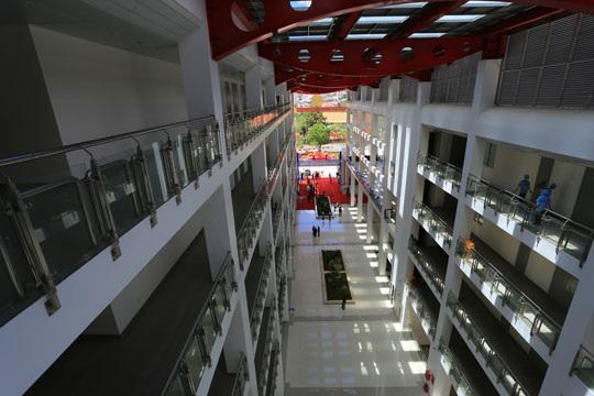 Trung tâm hành chính tỉỉnh có thiết kế hiện đại
