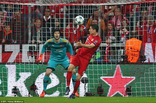 Arsenal sẽ đối mặt với Bayern Munich của sát thủ Lewandowski giữa tuần tới
