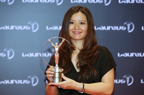 Li Na nhận giải thưởng Thành tựu trọn đời