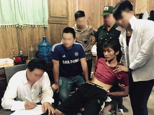 Nghi can Đặng Văn Hùng khai nhận gây án ngay sau khi bị bắt giữ