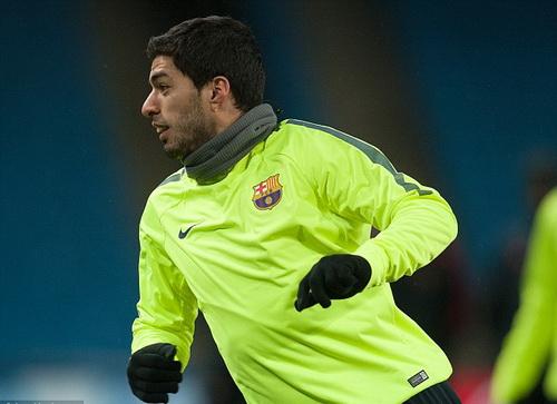 Suarez luôn khao khát thành công