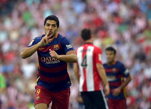 Luis Suarez ghi 40 bàn thắng tại La Liga mùa rồi
