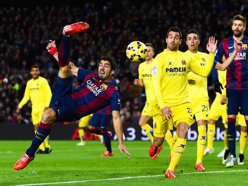 Luis Suarez tấn công quyết liệt nhưng không ghi bàn thắng
