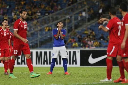 Malaysia thất vọng với thất bại 0-6 trên sân nhà trước Palestine
