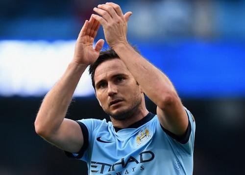 Lampard không vui mừng khi ghi bàn vào lưới đội bóng cũ Chelsea ở lượt đi